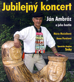 DVD by Slovak folklore singer Jan Ambroz