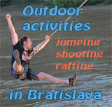 Outdoor activities in Bratislava