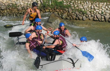 Whitewater Rafting in Cunovo - Gallery