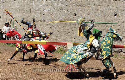 Knights tournament at the Trencin Castle on May 26.