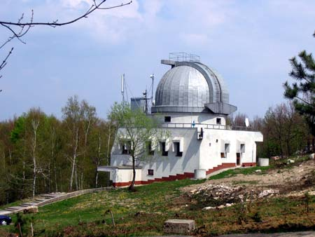 Observatory below the Velka Homola Hill