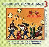 Detské hry, piesne a tance 3 - CD Cover