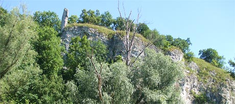 Ruin of the  R�thelstein  Castle
