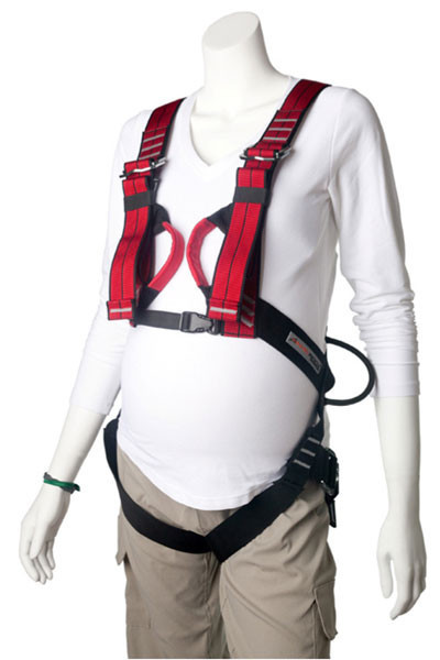 Harness for pregnant climbers