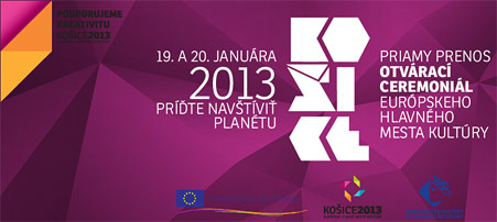 European capital of culture - Kosice 2013