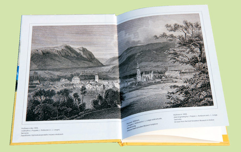 Roznava and its surroundings, pages of the guidebook