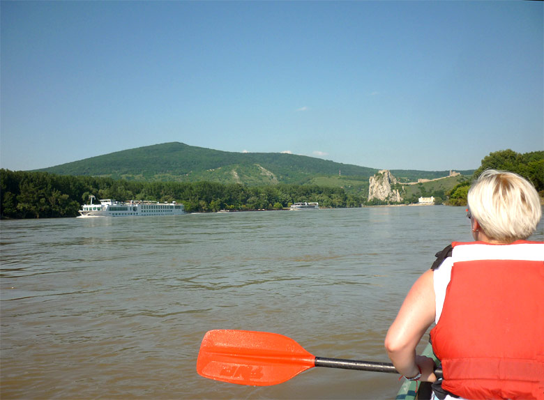On the Danube River near Devin