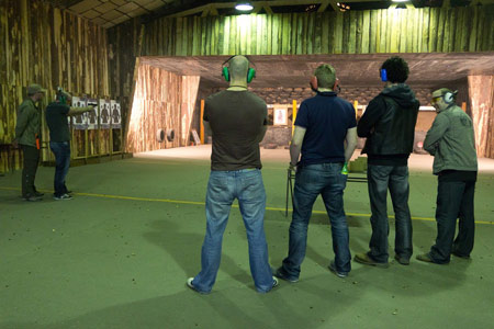 Shooting Range in Lozorno