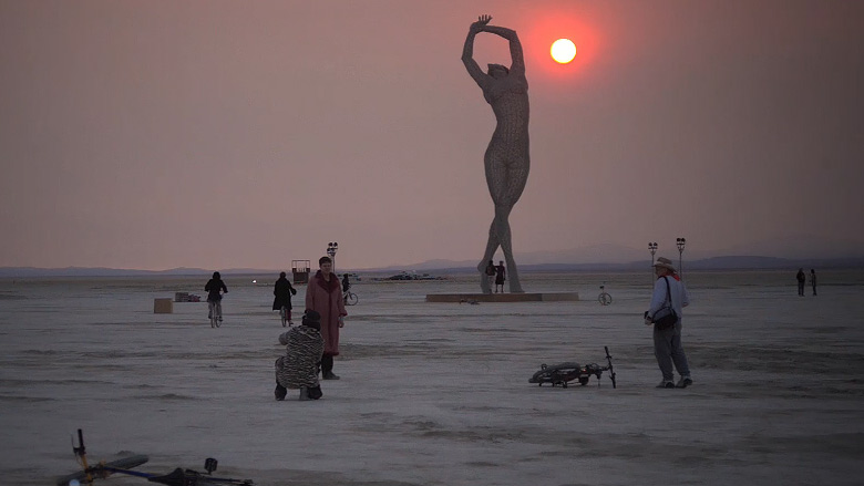 Z festivalu Burning man