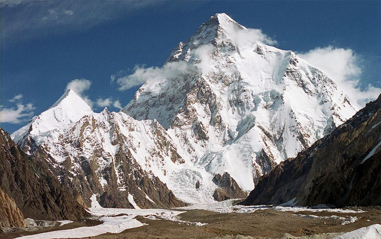 K2 from South West
