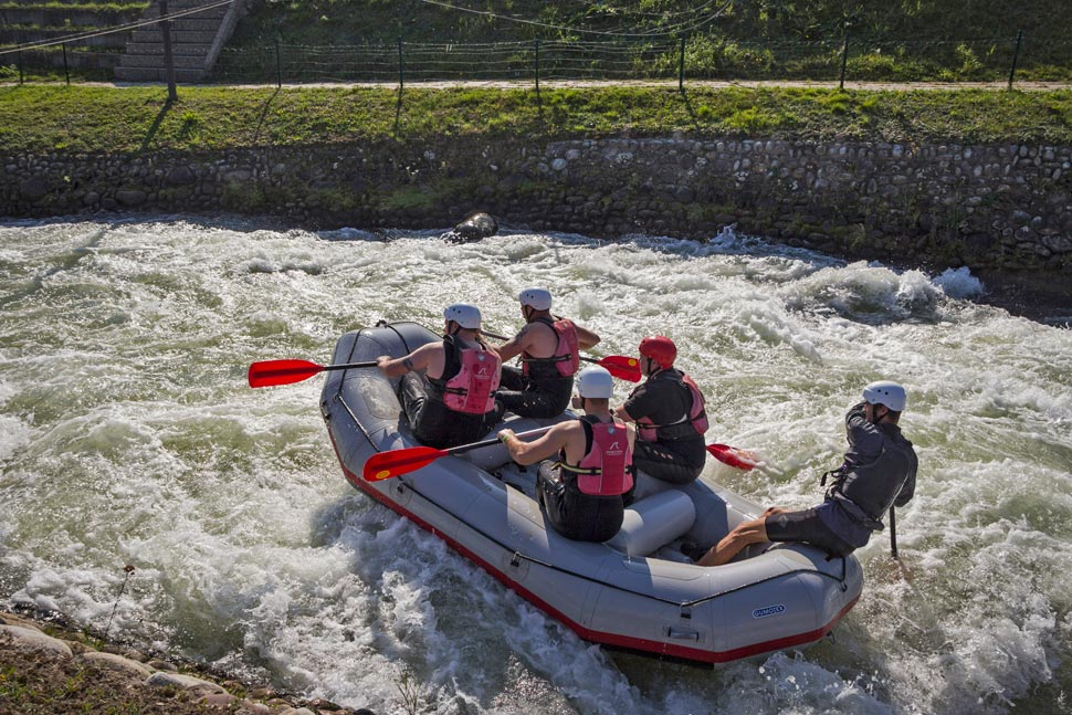 Rafting in Cunovo 1