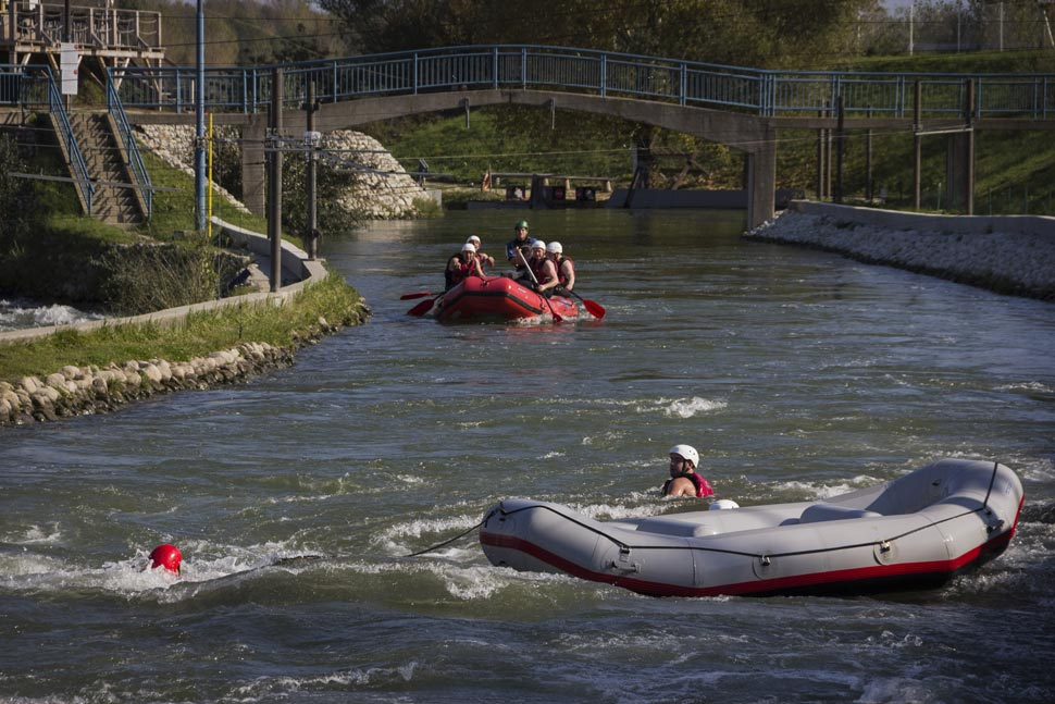 Rafting in Cunovo