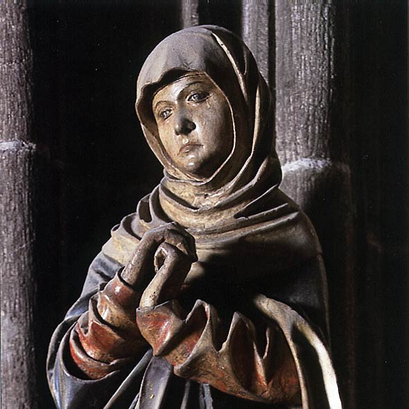 Mater Dolorosa from around the year 1600