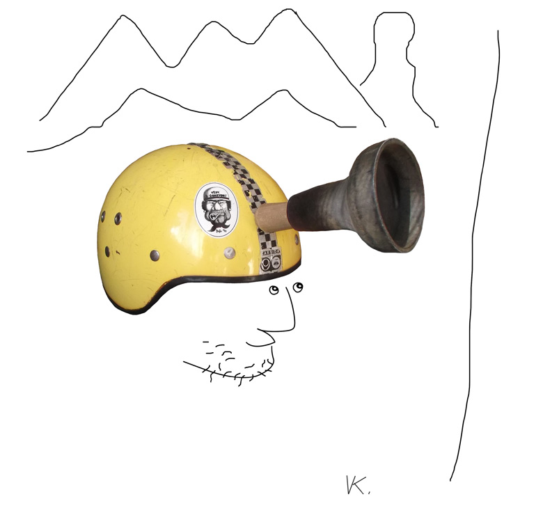 A helmet for smooth slabs