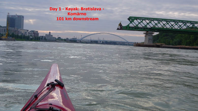 Solo thriatlon expedition Bratislava-Krivan - episode 1