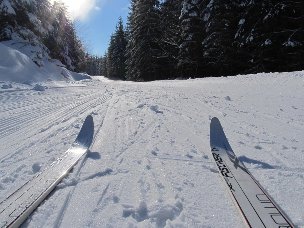 Cross-country skiing at Skalka