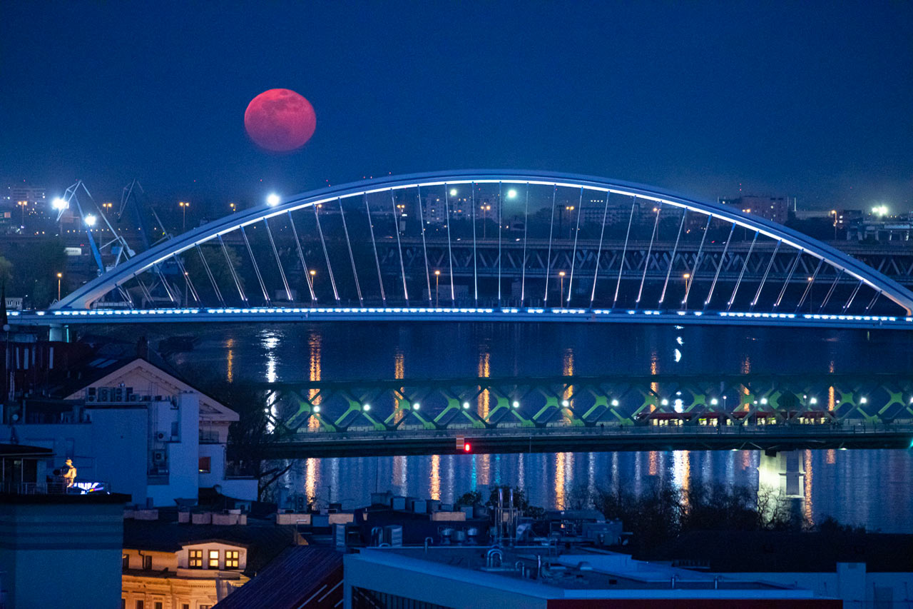 The Moon and Bratislava