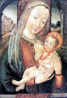 Madonna and Child, the last third of the 15th century - the City Gallery of Bratislava