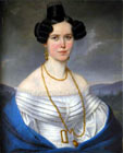 Lady Tomkov�,  about 1830 - the City gallery of Bratislava