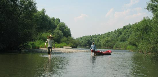 The Danube River rafting 2