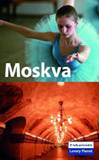 Moskva - Lonely Planet - obálka