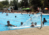 Summer Thermal Pool Patince