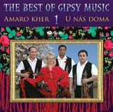 The Best of Gipsy Music - Amaro Kher - U nás doma - CD Cover