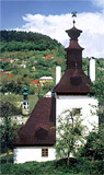 Wooden Clapper in Banska Stiavnica - photography from the book 55 Loveliest Places in Slovakia