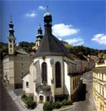 Gothic Church of St. Catherine in Banska Stiavnica - from the book 55 Loveliest Places in Slovakia