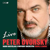 Peter Dvorsky: Live - CD Cover