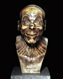 F. X. Messerschmidt:: Character Head, from the Collection of the Austrian Gallery