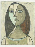 Ladislav Guderna: The Girl. 1946, - The City Gallery of Bratislava