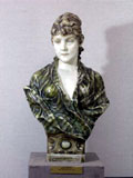 Viktor Tilgner: The Bust of Lady Wagner, Late 19th Century - The City Gallery of Bratislava
