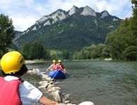 The Dunajec River Paddle Tours
