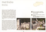 Strecno Castle - from a book Castles - Flying over Slovakia