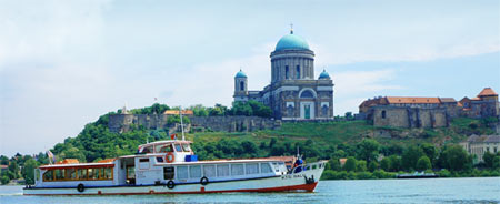 Sightseeing boat Balu - the Danube River - Sturovo - Esztergom