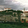 A view of Bratislava from Petrzalka