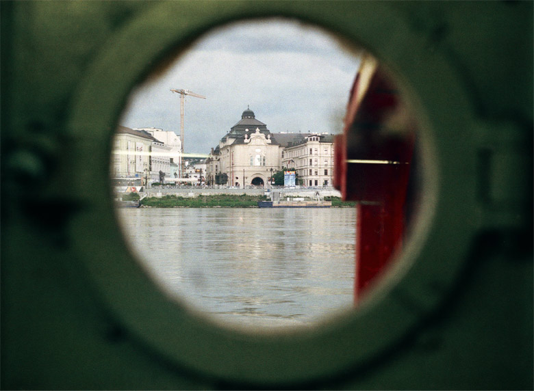 Bratislava - a view from a boat