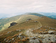 N�zke Tatry - the Low Tatras near Kralova Hola mountain