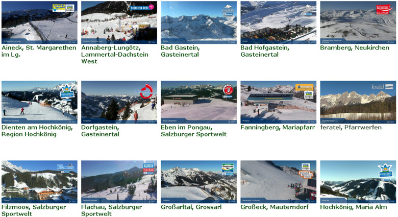 Webcams Austria