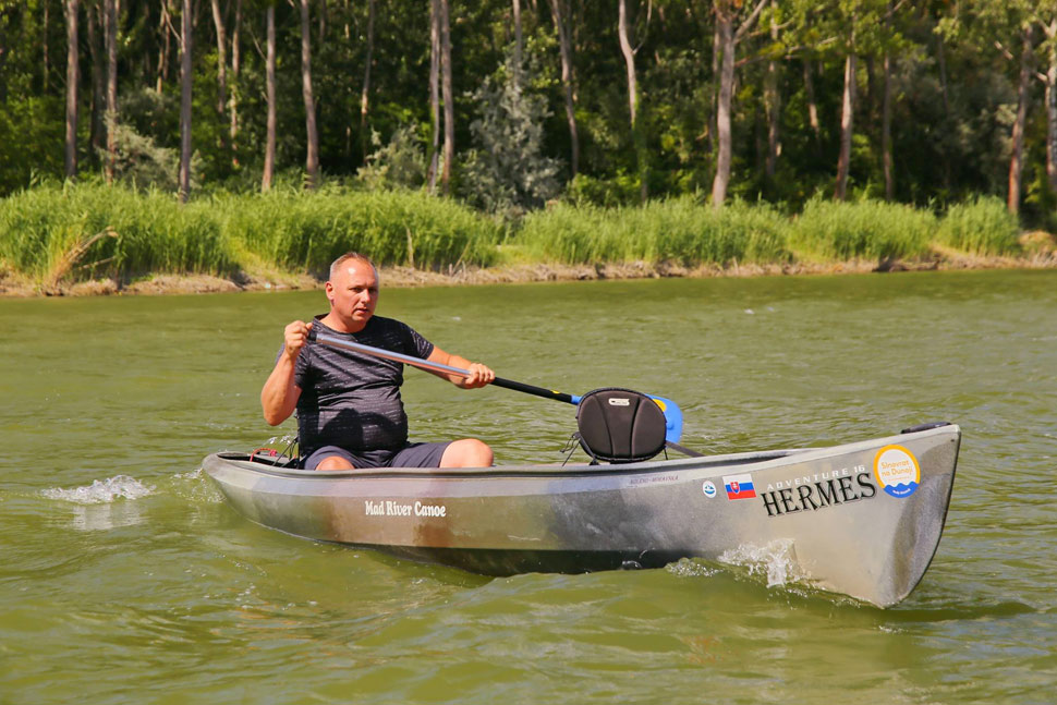 Danube River maps for paddlers