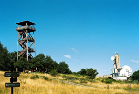 Koenigswarte - Observation Tower near the Berg Village