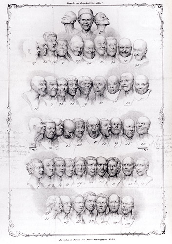 M. R. Toma: 49 Character Heads, Graphics, 1939, Collection of the City Gallery of Bratislava